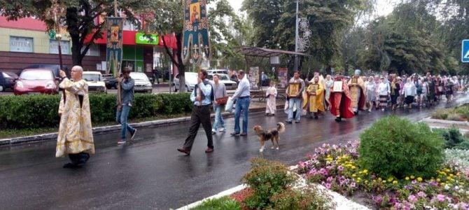 Центральними вулицями м.Ладижин урочисто пройшов Хресний хід